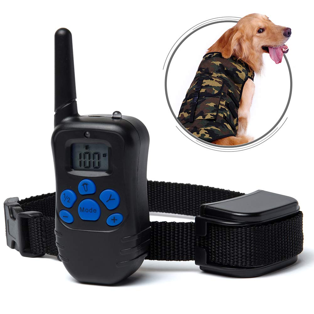 Tornaqui Dogs Shock Collar Training Anti-Bark Collar With Remote Rechargeable Beep Vibration Static Pets by Tornaqui (Image #2)