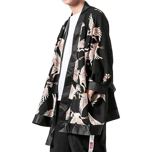 Chaqueta Haori de Verano Capa Ropa Japonesa de Flores y ...