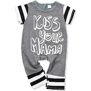 34b24c923fc6 Newborn Baby Flamingos Christmas Jumpsuit Infant Boys Girls Cartoon Animal  Plants Romper Outfit 2Pcs Xmas Clothes