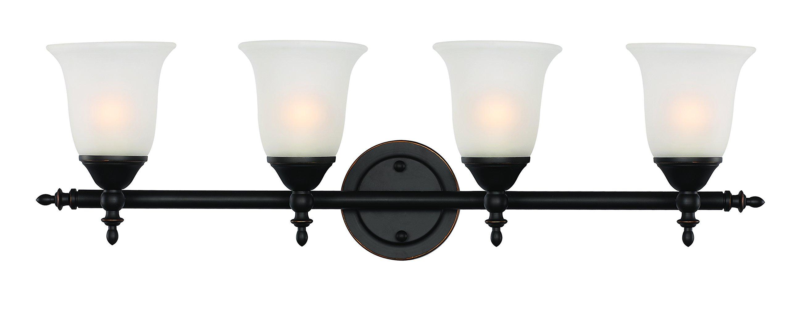 Trans Globe Lighting 20394 ROB Indoor Gassaway 29'' Vanity Bar, Rubbed Oil Bronze