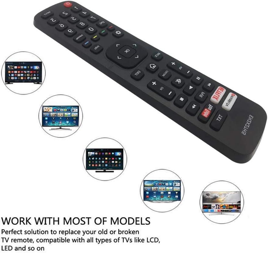 MYHGRC - Mando a distancia EN-2X27HS compatible con Hisense LED LCD TV: Amazon.es: Electrónica
