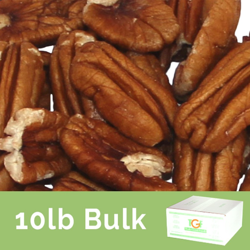 Truly Good Foods Pecan Halves | Bulk Nuts | Small Business | Foodservice - 10lb Box
