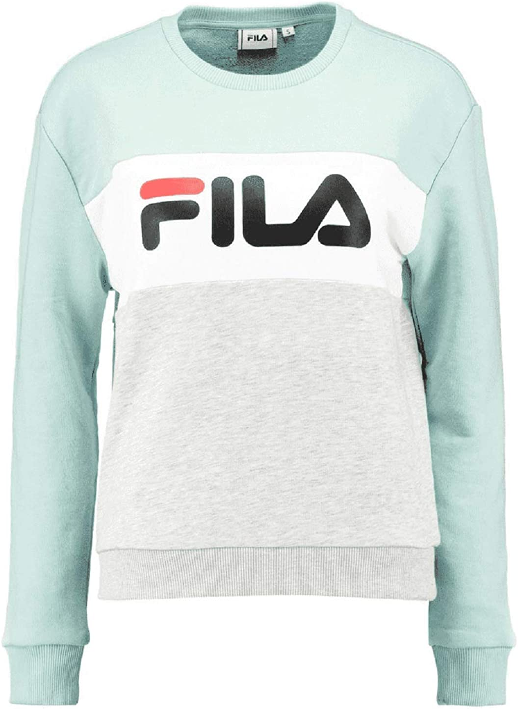 Fila Urban Line Leah Women Sweater (M, Light GreyGreen
