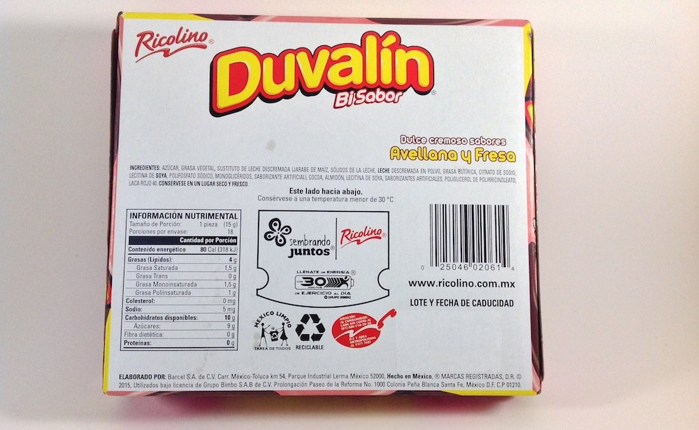 Amazon.com: Duvalin Choc-Strawberry Candy (9.52 oz) Authentic Mexican Candy with Free Chocolate Kinder Bar Included: Toys & Games