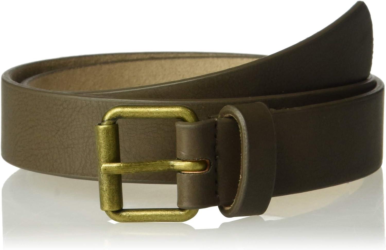 Osh Kosh Toddler Boys Brown Adjustable Faux Leather Belt 9-12 yr