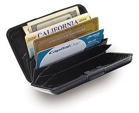 Amazon.com: RFID tarjeta de Crédito Funda con portafolios ...