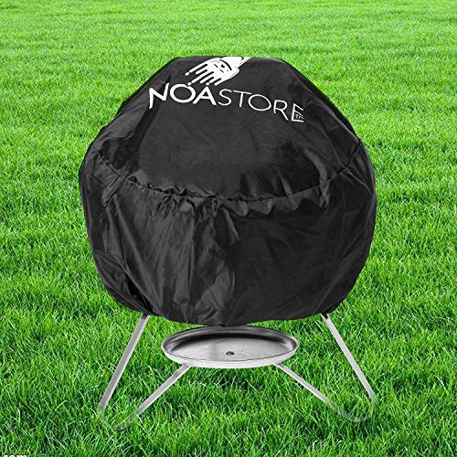 (Noa Store BBQ Grill Cover fits Weber Smokey Joe Silver Serving IndoorOutdoor Round 14-15)