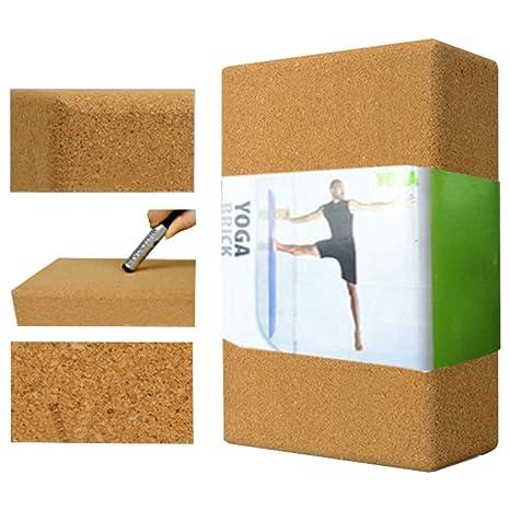 Corcho natural Yoga ladrillos salud y protección del medio ...