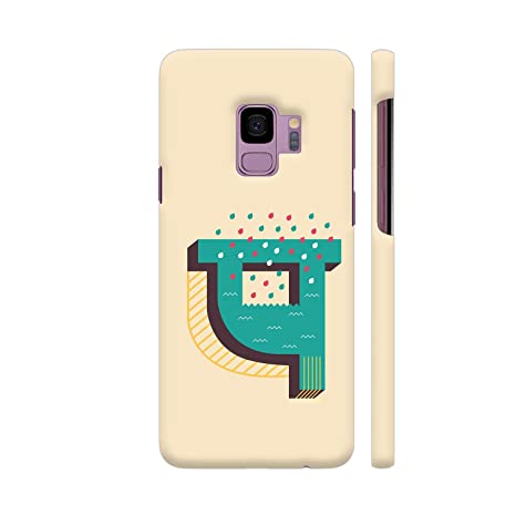 Colorpur Samsung S9 Cover - Devanagari Font P Printed