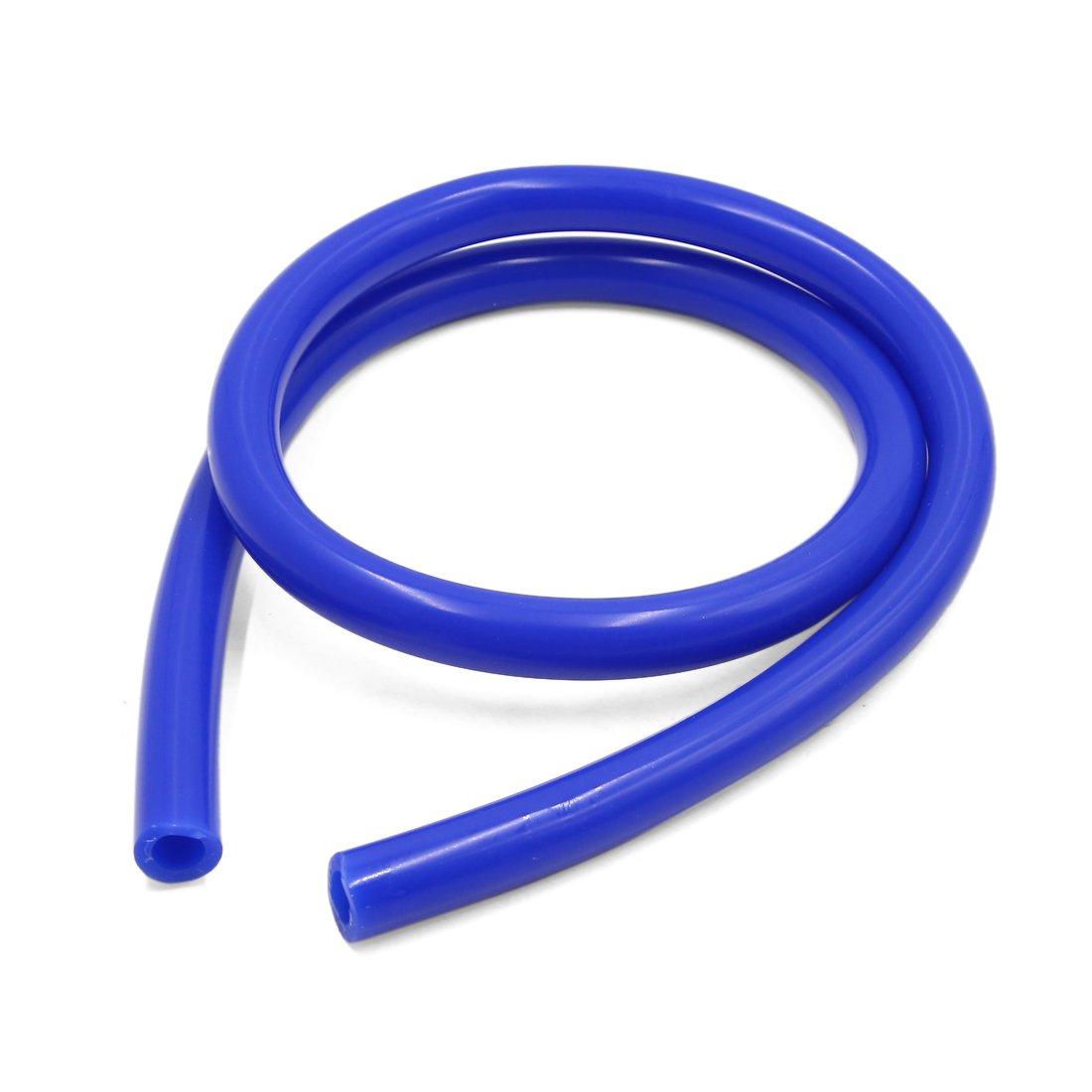 sourcing map Lunghezza 1 m 10 x 16mm blu silicone resistente calore tubo flessibile depressione tubazione tubo per auto