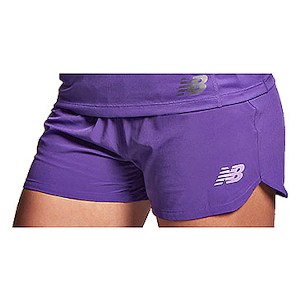 New Balance Women's Muni Shorts, Amethyst, X-Large