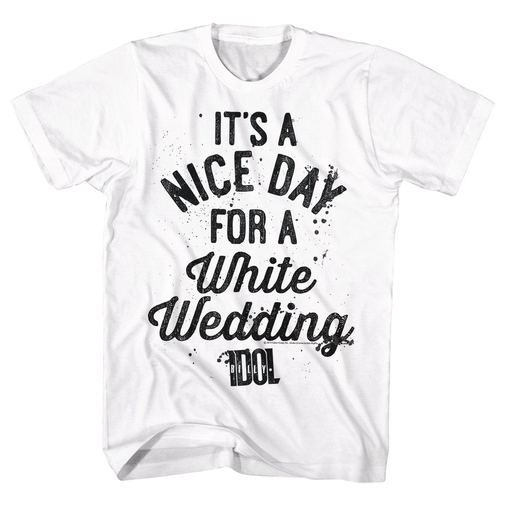 Amazon Ae Designs Billy Idol Shirt A Nice Day For A White
