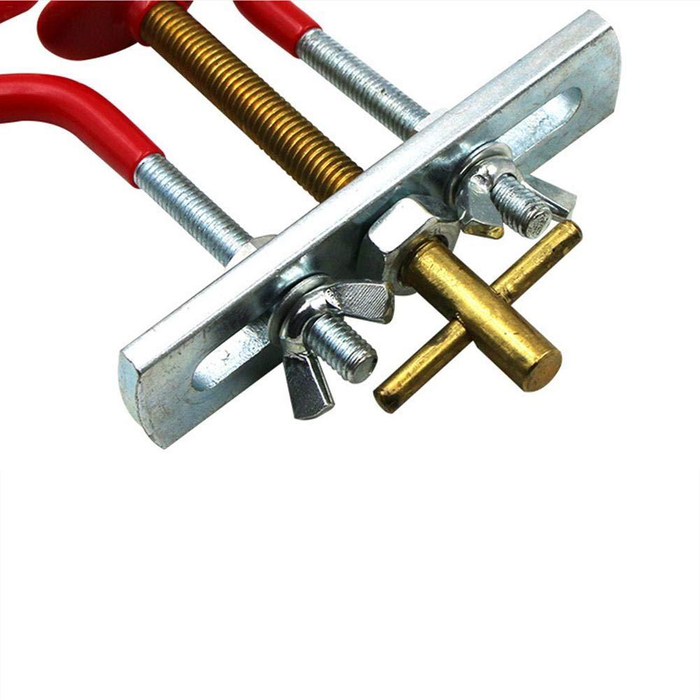 LeKing Modulador de Rama de bons/ái Hace Cortes Profesionales limpios Pinzas de bons/ái en Forma Creativa Herramientas de jardiner/ía de Recorte doblador de Tronco de Rama de /árbol de Acero al Carbono