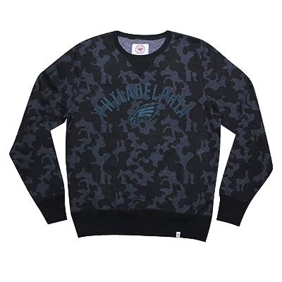 Mens PHI Eagles Athletic Pullover Thermal Sweatshirt
