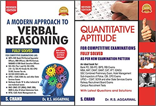 Rs Agarwal Aptitude Test Book