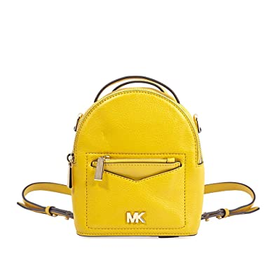 bd3205c09565 Amazon.com: Michael Kors Jessa XS Convertible Backpack- Sunflower: Shoes