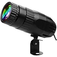 Duotar Mini RGBW LED Beam Spot lights Pinspot Light com holofote remoto iluminação de efeito de palco para DJ Disco…