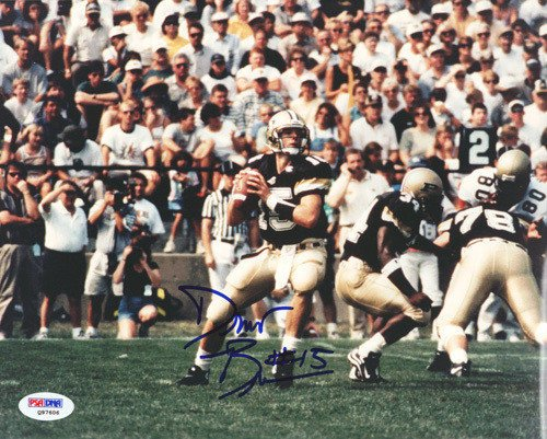 Drew Brees Signed 8x10 Photograph Purdue - Certified Genuine Autograph By PSA/DNA - Autographed Photo (Photograph Brees Signed)