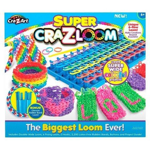 Super Cra Z Loom Biggest Loom Cra Z Art