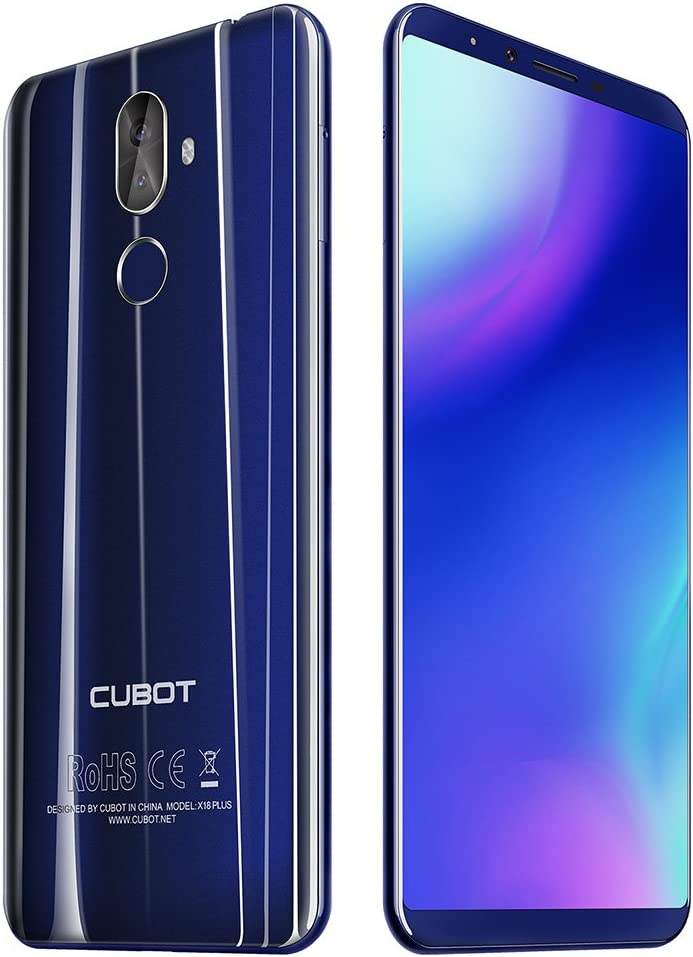 CUBOT X18 Plus - 4G Smartphone 5.99 Pulgadas Android 8.0 MTK6750T ...
