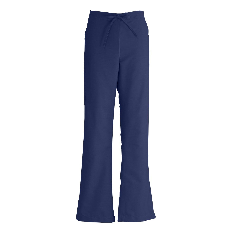 1b0a3056877 Amazon.com: Medline ComfortEase Ladies Modern Fit Cargo Scrub Pant,  Midnight Blue: Clothing
