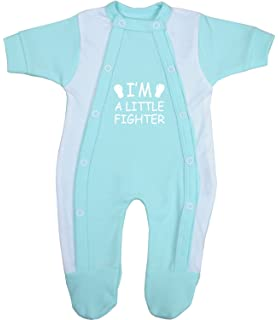 8caa50979bad BabyPrem Preemie Baby Clothes 3 Piece Set - Coverall Bodysuit   Hat ...