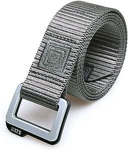 5.11 Double Ring Buckle Tactical Belt 511 Outdoor Multi-Function Nylon Belt Male Training Casual Pants Belt 4 Color Multi-Size Optional (Color : D, Size : 106×3.8CM)