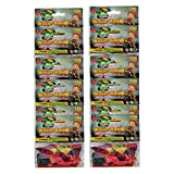 12 Pack Mini Sports Water Balloons - Lots Of Colors Lots Of Fun - Great For Party - 1200 Water Bombs - Fill And Throw - Free Tap Filler Included