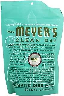 product image for Mrs. Meyer's Clean Day Automatic Dishwashing Packs - 12.7 oz - Basil - 2 pk