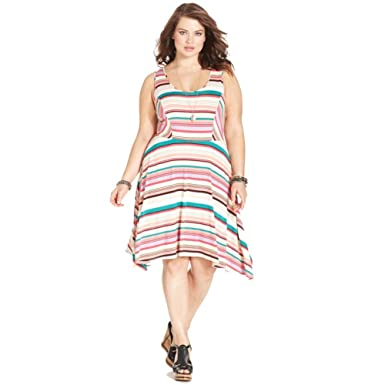 American Rag Plus Size Dress 0x Amazon Clothing