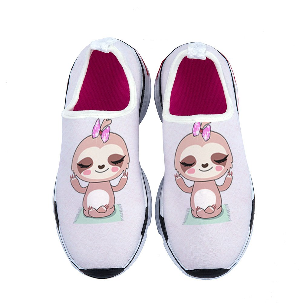 Mageed Cool Cute Sloths Shoes Casual Kids Sneaker Sport Fashion Children Girl Sneakers by Mageed (Image #1)