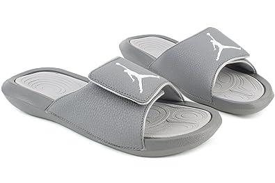 2a83075b406 Jordan pour Homme Hydro 6 Slide Sandales, (Cool Grey/White-Wolf Grey ...