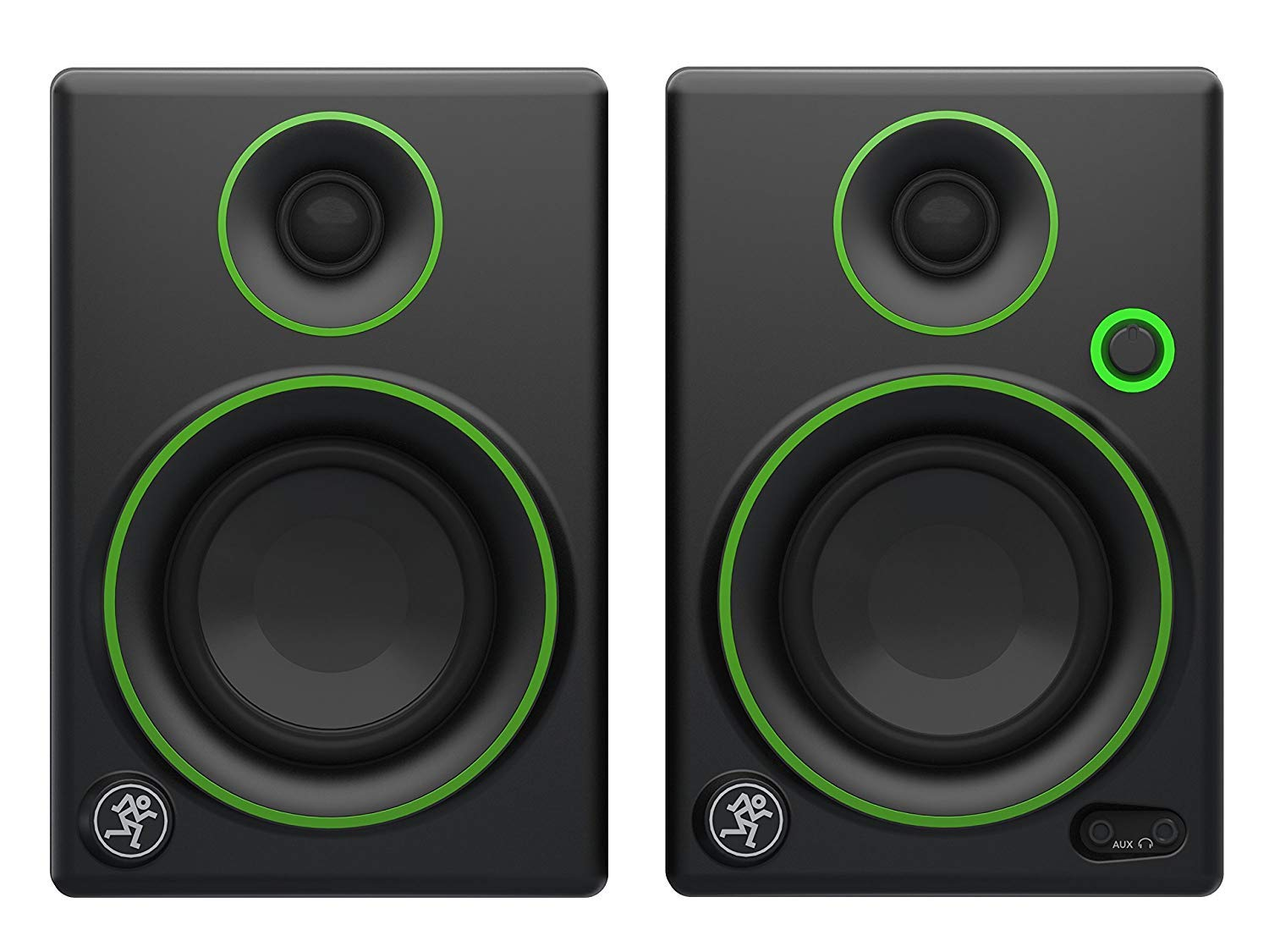 Mackie CR3 3'' Creative Reference Multimedia Monitors Bundle with Mackie Onyx Artist 1-2 USB Audio Interface and Tascam TH-02 Closed Back Studio Headphones by Circuit City (Image #3)