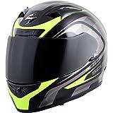 Scorpion EXO-R710 Focus Street Motorcycle Helmet (Neon, Medium)