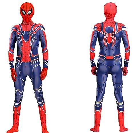 YUNMO Iron Spider Spiderman Disfraz de niño clásico para ...
