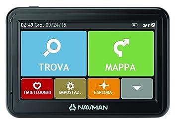 Navman 4000 Western Europe navegador GPS para Coche, Negro: Amazon.es: Electrónica