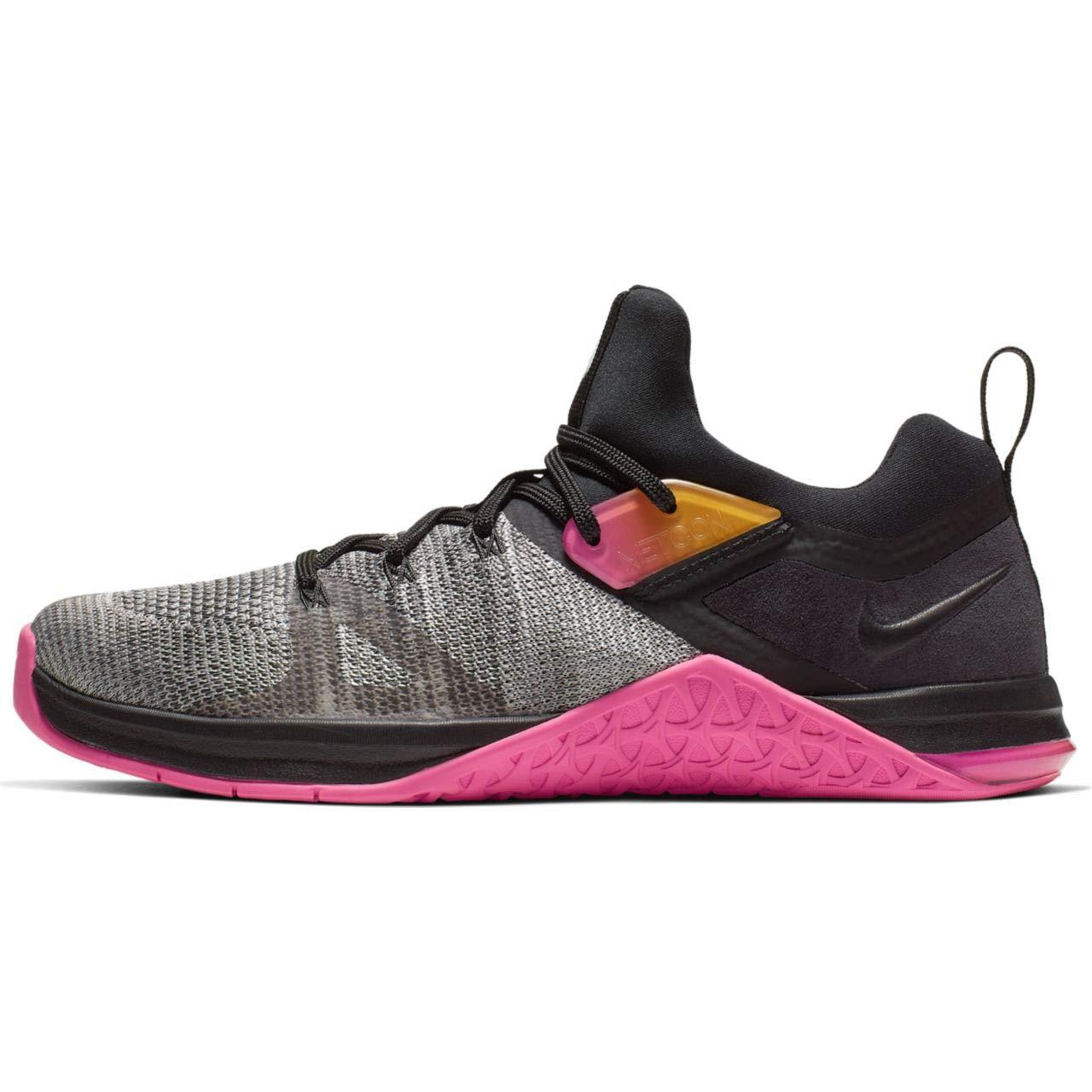 MultiCouleure (noir noir Laser Fuchsia blanc 000) 41 EU Nike WMNS Metcon Flyknit 3, Chaussures de Fitness Femme
