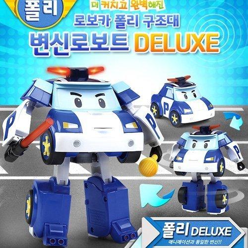 Robocar Poli Deluxe Transforming Robot Toy - -