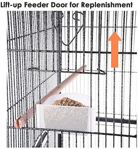 Yescom Bird Parrot Cage Overall Size Chinchilla Sugar Glider Cockatiel Supplies Color Optional