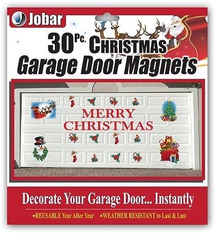 amazoncom merry christmas garage door decals home kitchen
