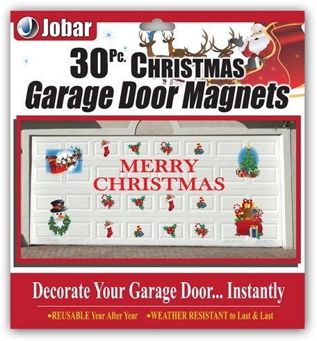 Merry Christmas Garage Door Decals Amazonca Home Kitchen