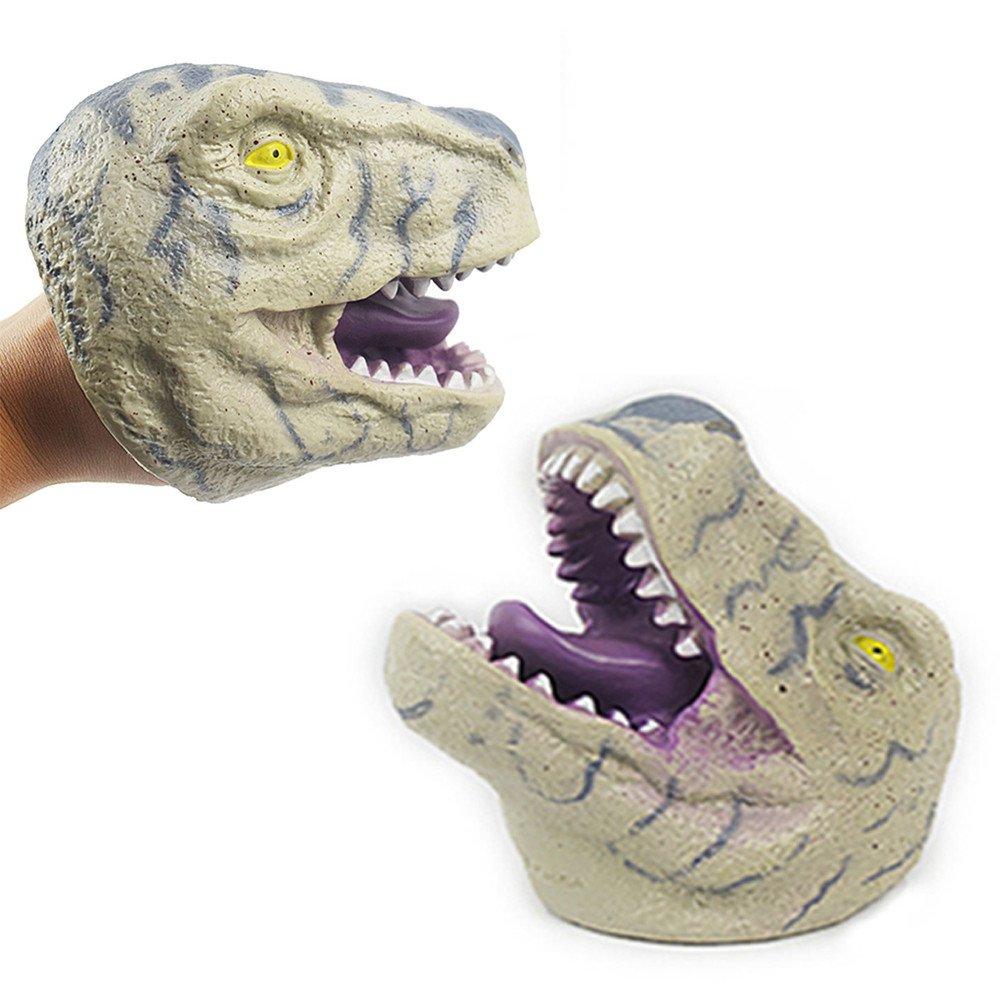最安価格 Gbell キッズ 3歳以上 恐竜 ごっこ遊び 幼児 非毒性 手人形 おもちゃ ソフト インタラクティブ 恐竜 手袋 教育玩具 幼児 男の子 女の子 子供 3歳以上 非毒性 ビニール ステージやパペットの劇場、就学前のお子様に最適 12cm グレー B07K1QCFNZ, 日置川町:eb8f6c01 --- realcalcados.com.br