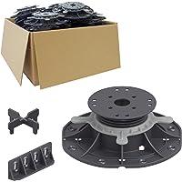 25 stuks Trevendo Universal Terrasdragers voor hout, composiet en platen, L (45 - 70 mm)