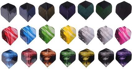 21pcs//set Pet Dart Flights Accessories Wear Resistance Variety of Styles New