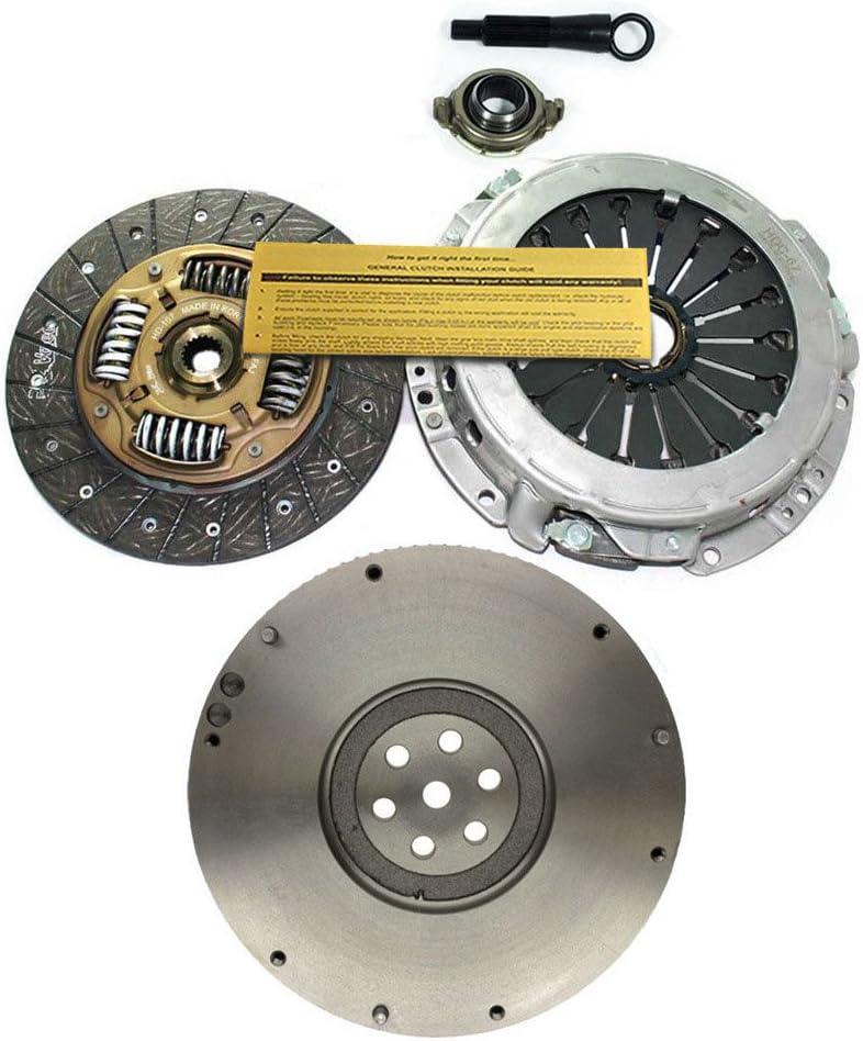 EFT CLUTCH KIT OEM NODULAR FLYWHEEL for 2004-2009 KIA SPECTRA SPECTRA5 2.0L 4CY