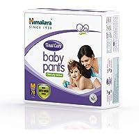 Himalaya Total Care Baby Pants Diapers, Medium, 78 Count
