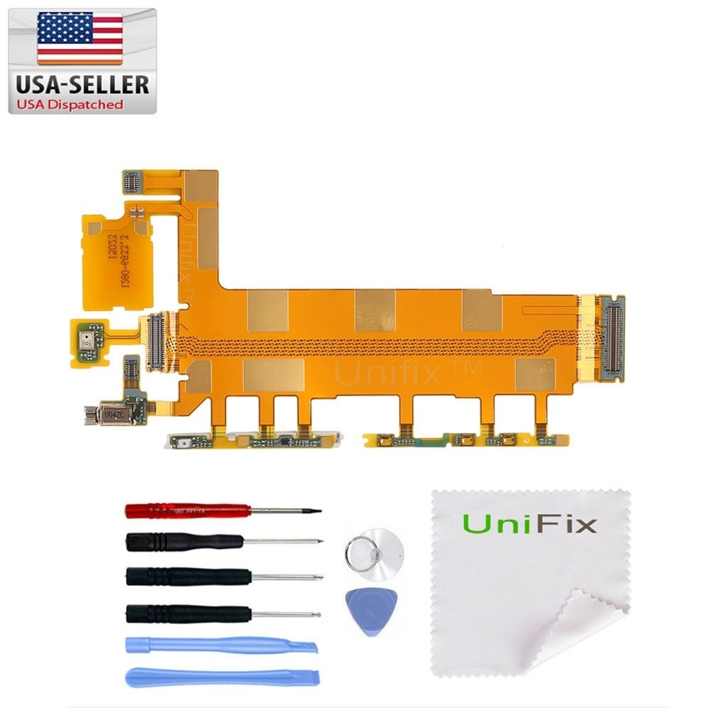 Unifix Volume On Off Switch Power Button Flex Cable Sony Xperia S Circuit Diagram Replacement Part For Z3 D6653 D6603 D6616 Tool Kit Cell Phones Accessories