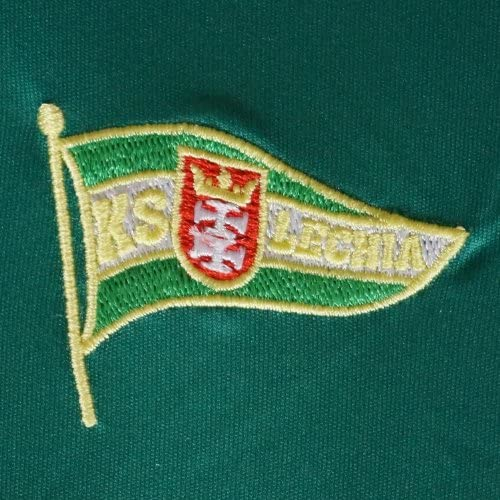 adidas KS Lechia Gdansk Kinder Trikot weißgrün Fussball