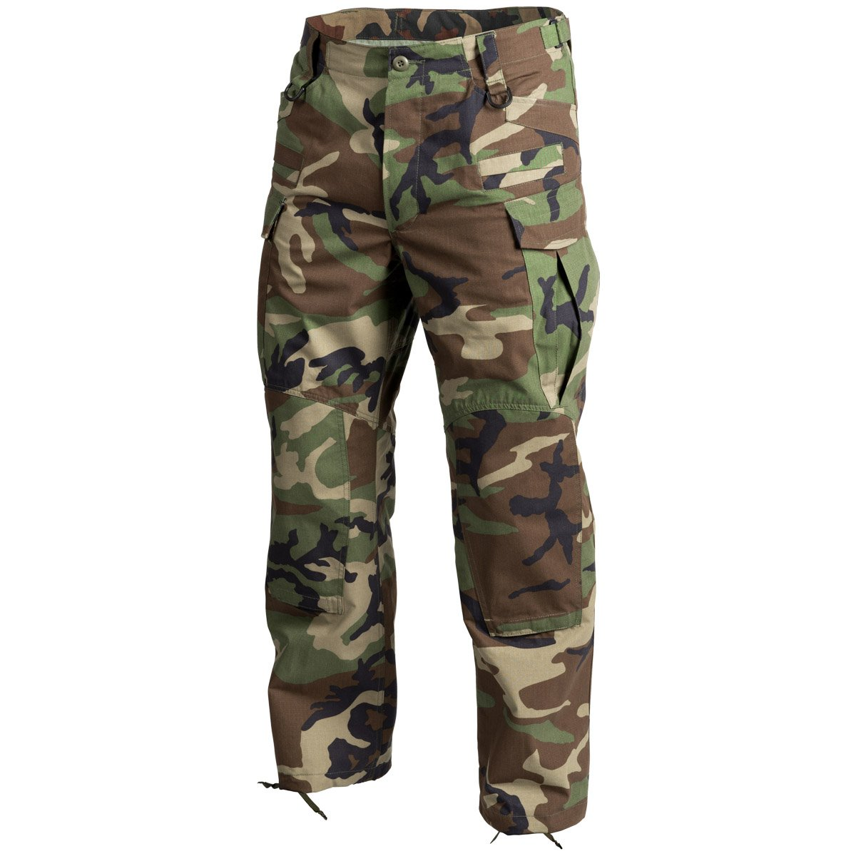 Helikon Men's SFU Next Trousers US Woodland Ripstop