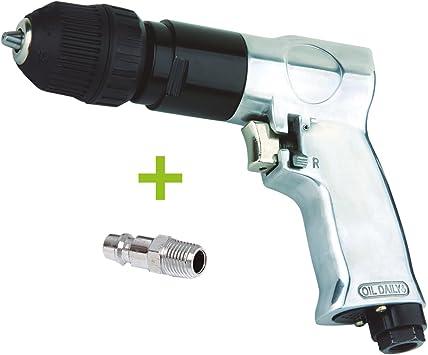 TALADRO NEUMATICO reversible automático 10 mm para compresor de ...